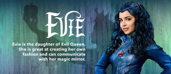 Evie, personnage dans  Descendants