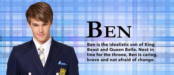 Ben, personnage dans   Descendants
