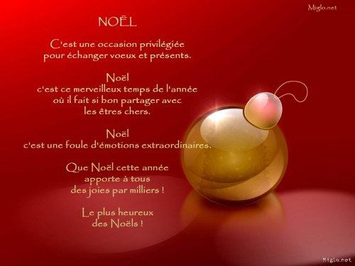 les message d'amour de Noël