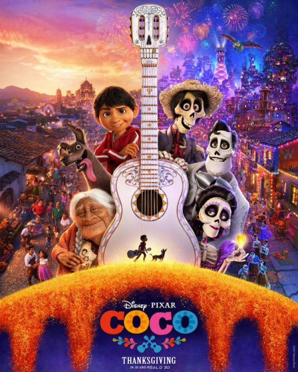 Coco ! Dans les salles françaises le 29 novembre.