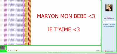 Maryon, plus qu'une simple fille juste celle que j'aime! <3