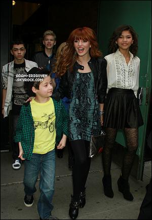 * Le 14 mars 2011 - Adam et tout le casting de« Shake It Up » dans l'émission Good Morning America !*