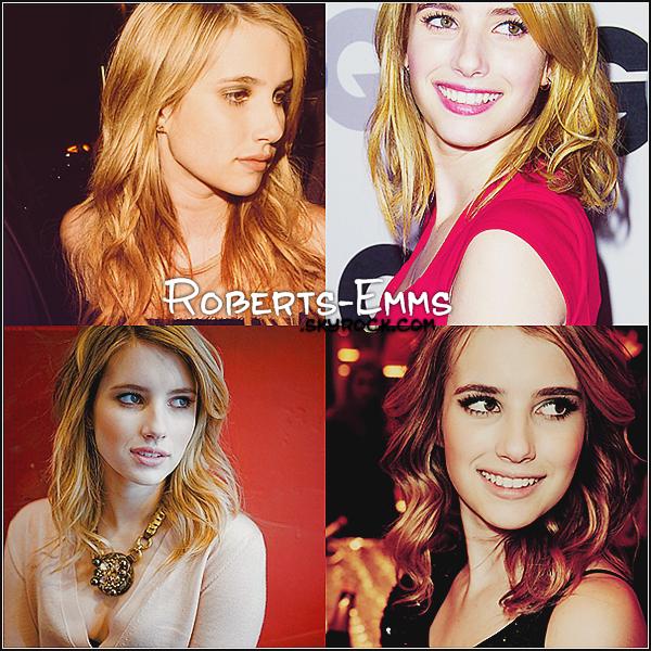 Bienvenue sur ta source sur la magnifique & talentueuse actrice Emma Roberts !