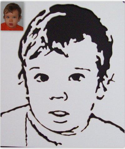 le portrait de notre petit-fils