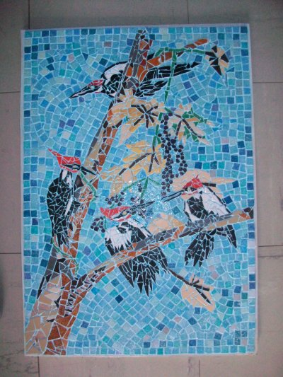 MOSAIQUE  ( grand  pic  )  590 euros