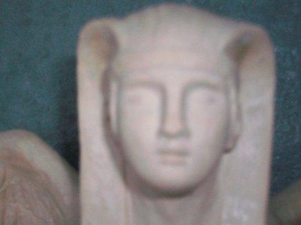 SCULPTURE  (  SPHINX  EGYPTIEN    vendu