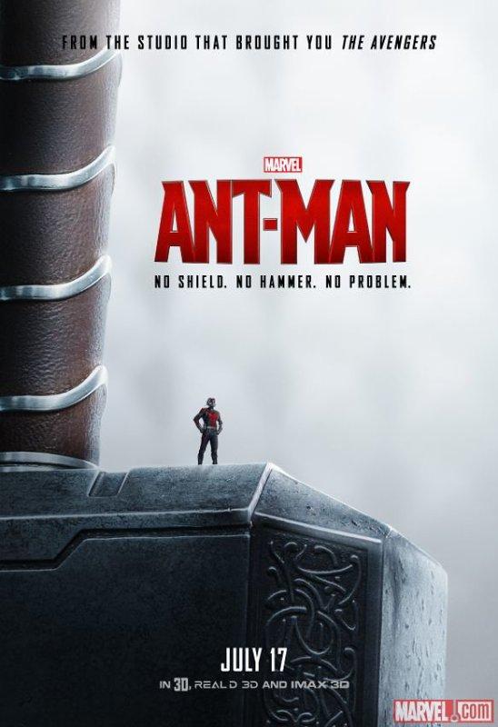 « Peut-être que Ant-Man était dans tous les films des Avengers, mais qu'on ne le voyait jamais. »