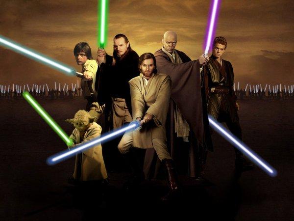 « Pourquoi les jedis n'utilisent pas la force pour appuyer sur le bouton des sabres lasers de leurs adversaires pour les éteindre. »