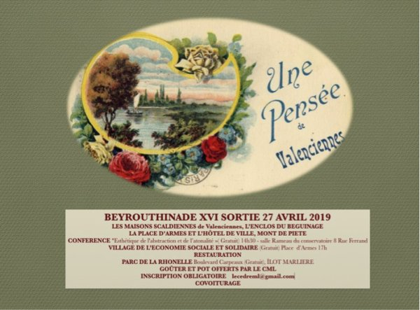 BEYROUTHINADE XVI  A VALENCIENNES