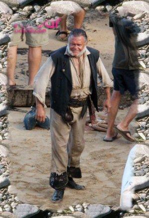 Image de tournage pirate des caraïbe 4