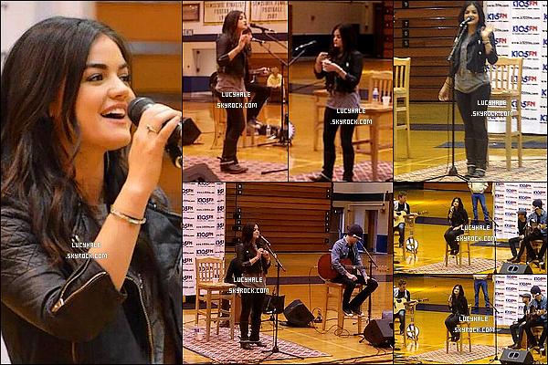Notre chanteuse a traversé plusieurs états pour faire la promo de son futur album et faire découvrir sa voix.