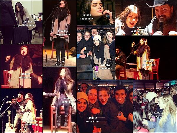 06/12/13 : Notre magnifique Lucy Hale performait une fois de plus au Texas  à l'évènement Corpus Chrispi.