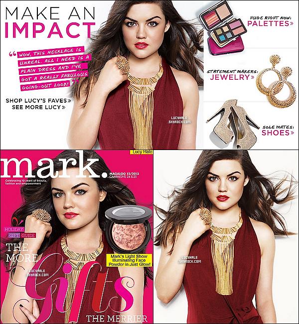 Voici des scans du magazine « Mark » sur lequel Lucy fait la couverture. Qu'en pensez-vous ?(+) Nouvelle photo du photoshoot pour « Mark » est apparue et est d'ailleurs mise sur l'un des scans (en haut) du magazine.