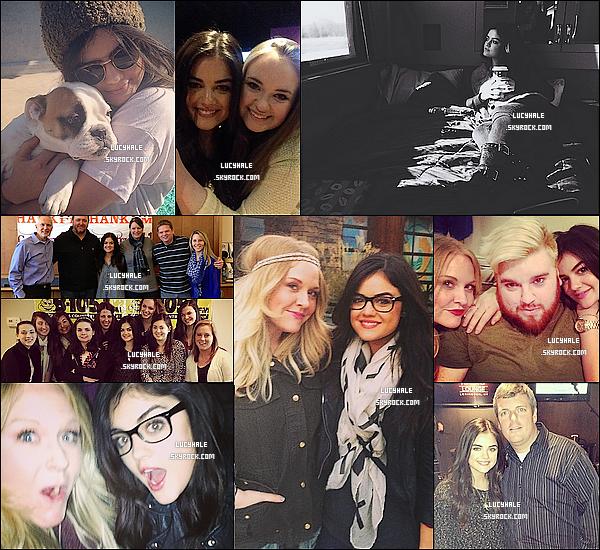 De nouvelles photos personnelles issues de Twitter ont été postées par Lucy sur son compte.
