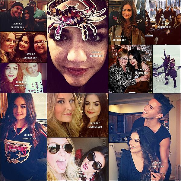 Découvrez des photos personnelles postées récemment sur Instagram par Lucy Hale.