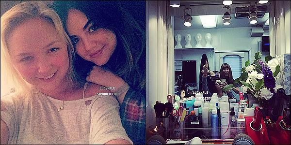 21/03/2014 : Après le sport, la belle actrice est allée faire des emplettes dans un supermarché de Studio City.