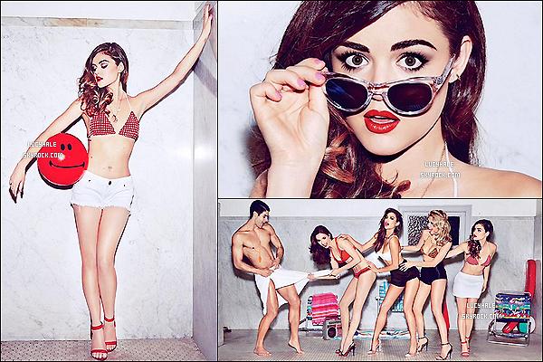 Découvrez des photos des quatre petites menteuses pour le magazine « GQ » du mois de juin.
