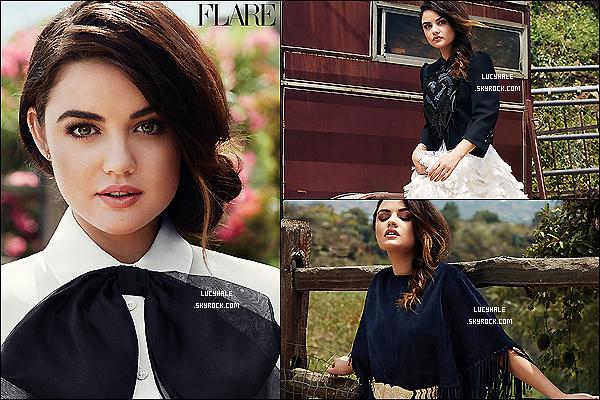 Notre jolie Lulu fait la couverture du magazine « Flare » du mois de juin 2014. Top !