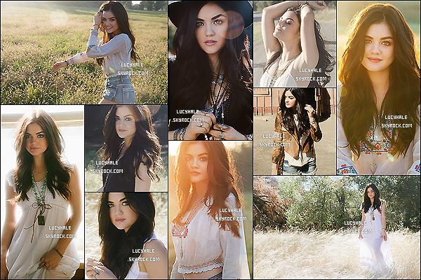 ••  Voici la totalité du photoshoot de l'album de Lucy H. Très country, ça correspond bien au genre.
