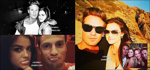 13/09/2014 : Lucy et son - nouveau - petit ami Adam Pitts, faisaient du shopping dans Beverly Hills. (LA) La miss officialise sa relation avec le batteur du groupe Lawson. Quelle surprise ! Elle est donc passé à autre chose. Tenue top !