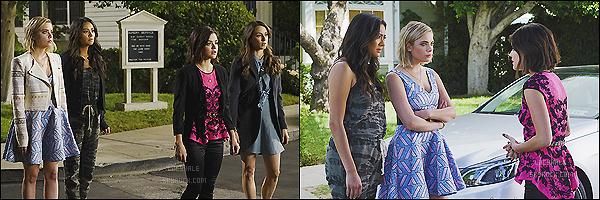 •• Découvrez encore trois photos promotionnelles du spot  « Become With US »  pour  ABC Family.  Plus : Les stills de l'épisode 3 de la saison 6 de PLL intitulé « Songs of Experience » sont déjà sortis. Qu'en pensez-vous ? Hâte ?