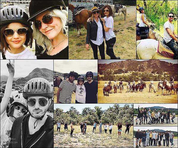 13/06/15 : Lucy a fêté son LucyGooseyBDayWeekend (nom qu'ils ont inventé) avec ses amis à cheval.  Lucy a l'air d'avoir passé une très belle journée avec ses amis qui ont tous posté des photos sur les réseaux sociaux. J'aime trop !