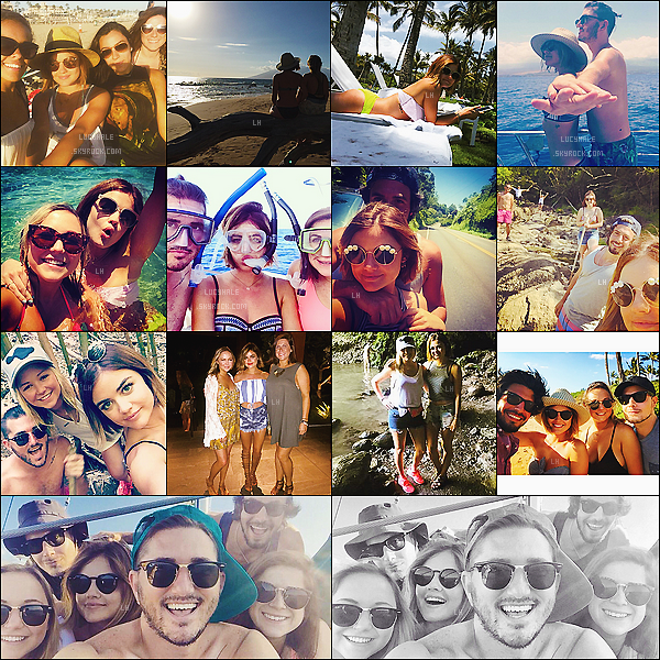 Voici quelques photos postées par Lucy H, en vacances à Maui sur l'archipel d'Hawaï. Plus : Deux nouveaux clichés pour le photoshoot « Become With Us » de la chaîne ABC Family viennent de sortir. Toute belle !