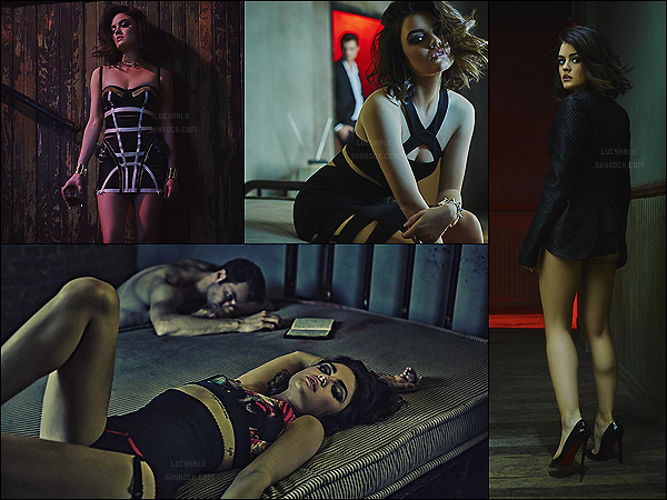Découvrez un nouveau photoshoot pour « V Magazine » réalisé par  James Lee Wall.  Je n'ai qu'un mot : Wahou ! Lucy est époustouflante, je ne l'ai jamais vu aussi femme fatale et sexy que sur ces photos. - Big top !