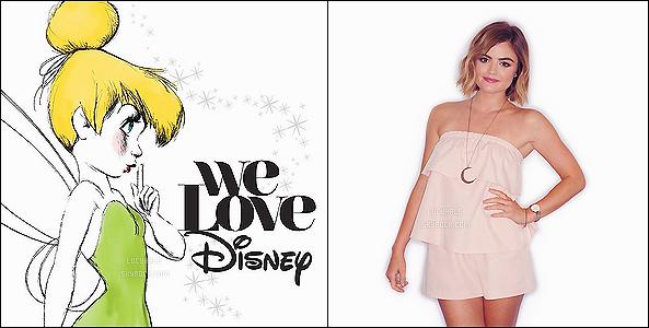 _NOUVEAU PROJET_ Lu' fera parti de l'album « We Love Disney » en interprétant Let It Go avec Rascal Flatts.  L'album sortira le 30 octobre et la photo est issue du shoot promo. Perso, je ne suis pas enjouée par ce projet, marre de cette chanson sérieux !
