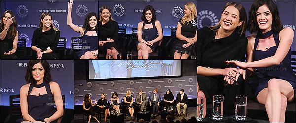 """11/10/2015 : Nos petites actrices (sans Shay) se sont rendues au pannel de PLL durant le PaleyFest, NY.  Découvrez la vidéo ici.  Il y avait une super ambiance durant cette event. Plus : Un épisode de """"bon en avant"""" serait diffusé le 24 novembre."""