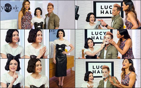 20/04/2017 : Toujours en pleine promo, la jolie Lucy a participé à l'émission Amazon's Style Code Live.  Tenue à nouveau très laide. On dirait que Lu' se cherche en ce moment, ces tenues sont extrêmement diverses. Après, c'est bien d'aimer la variété !