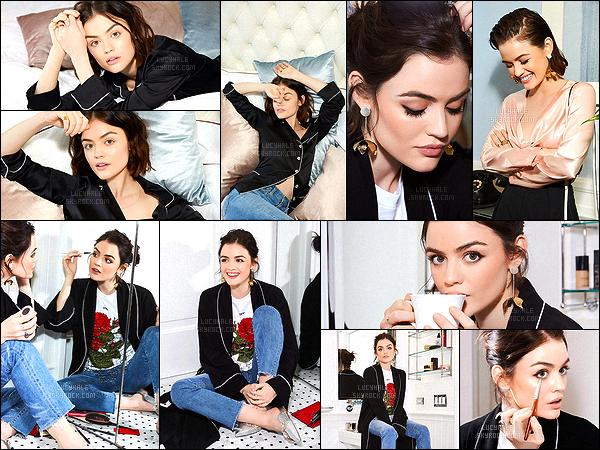 Voici un tout nouveau photoshoot réalisé pour la marque de cosmétiques Byrdie. Vos avis ? Encore un photoshoot très réalisé par Lucy. Elle est très glamour dessus, j'aime voir cette facette d'elle. Coup de c½ur pour celle en haut à droite.