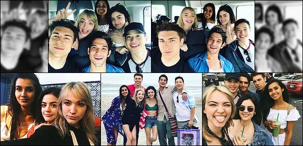 31/05/2017 : Lucy H. et ses co-stars de son prochain film Truth or Dare réalisent ensemble un road trip. Vous pouvez retrouver à ses côtés le beau Tyler Posey de la série Teen Wolf. Il semblerait que le tournage commence au mois de juin. - Super !