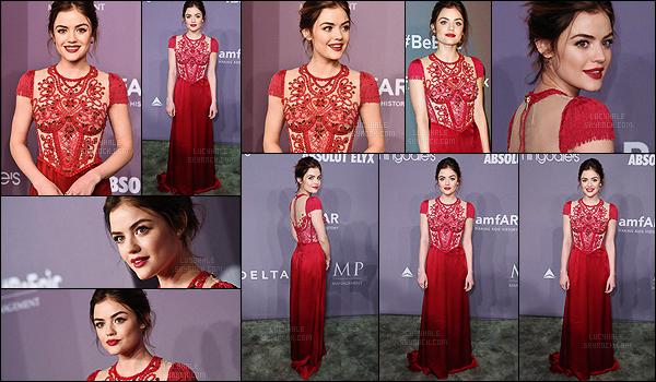 07/02/2018 : Notre Lulu était présente pour le gala de l'amfAR qui se déroulait à Cipriani Wall Street dans NY. Que dire à part.. wahou ! La robe est absolument magnifique et je n'ai pas de mot concernant son make-up, sa coiffure. Tout est parfait. Très gros top !