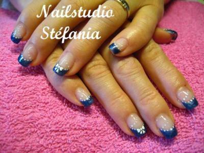 deco ongle jeans