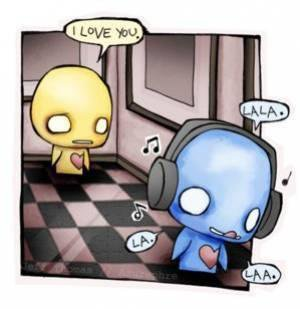 Je t'aimais, je t'aime & je t'aimerai ...