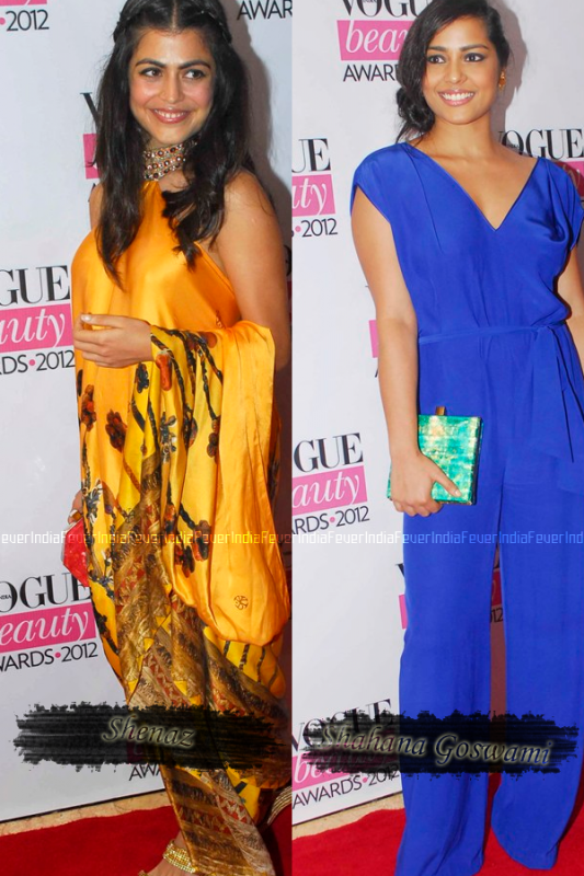 Who's Hot Who's Not – Vogue Beauty Awards 2012