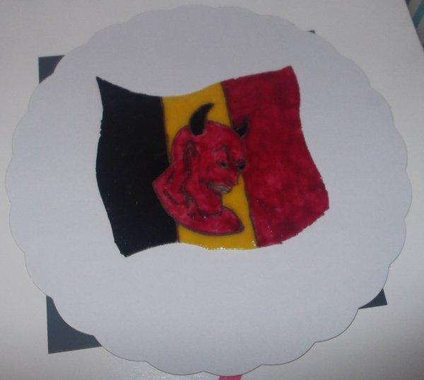 Pour Les Vrai Supporter Belge Un Petit Diable Rouge :)