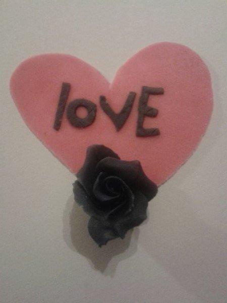 Déclaré votre amour sur une petite douceur de gourmandise