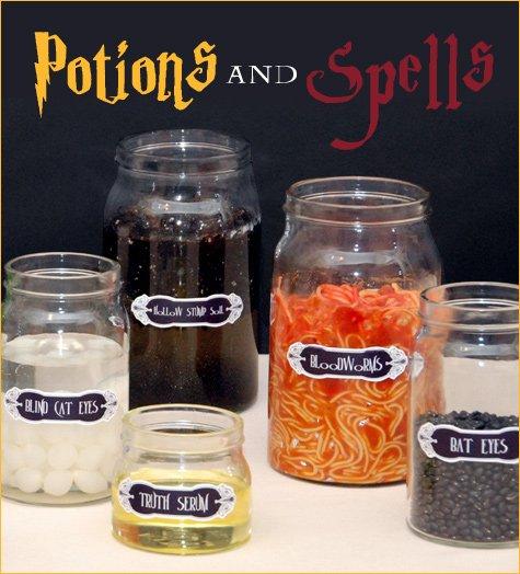 Des idées pour une Potter Party !