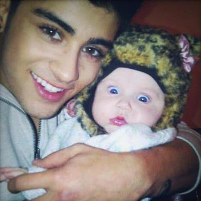 Zayn et Baby Lux