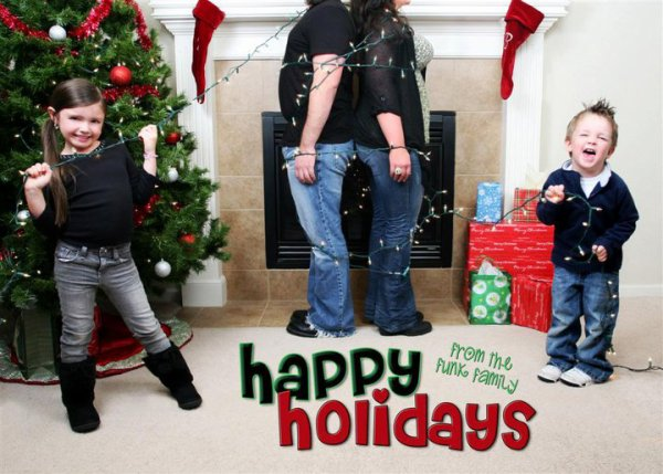 Happy holiday from the funk familly ^_^