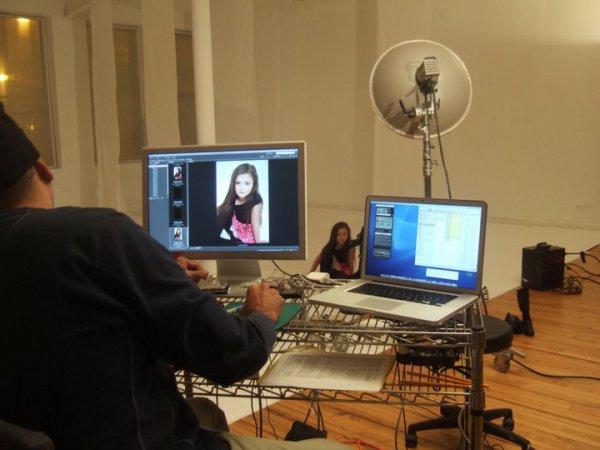 On set - Modeling Jobs