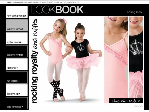 Brooklyn in another ad for DWS - love them!
