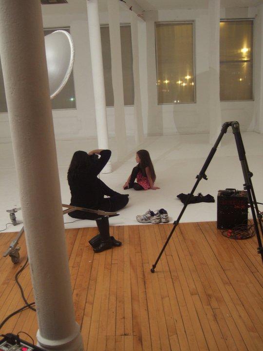 on set modeling job
