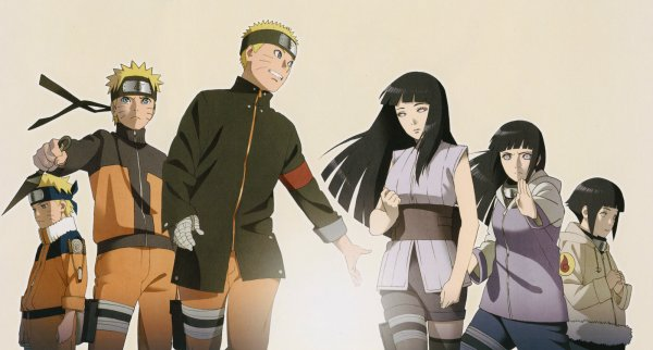 Les véritables couples dans Naruto