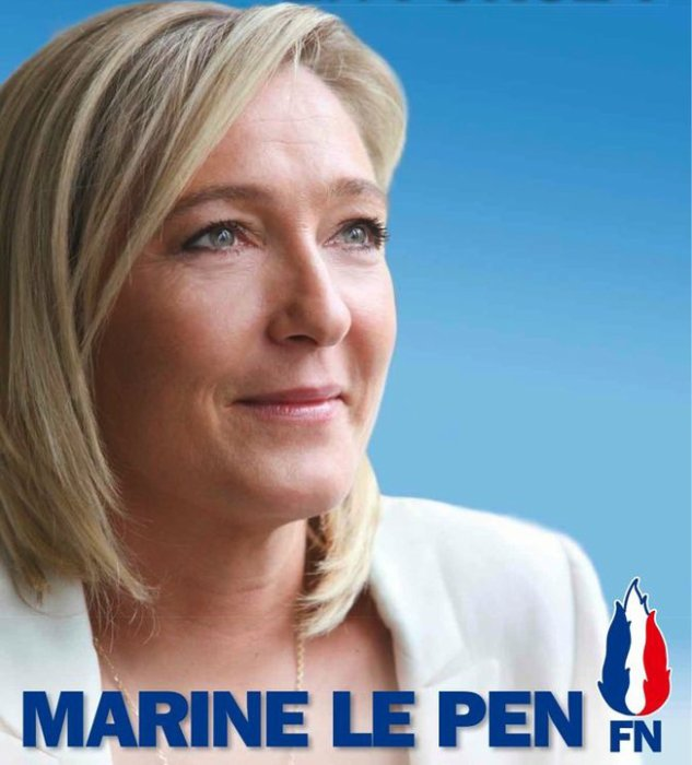 2017 : Marine Le Pen présidente!