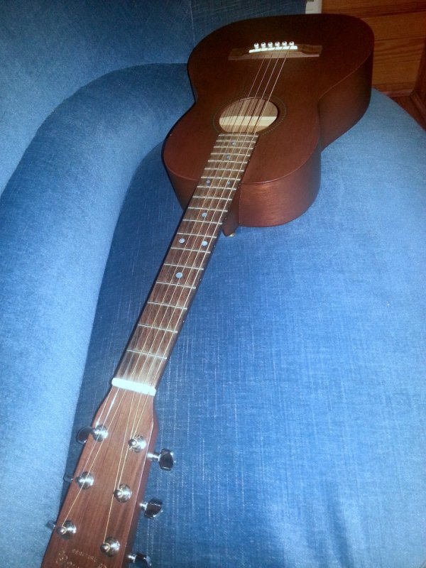 Guitare de Christophe Maé (Martin & Co 5/15)