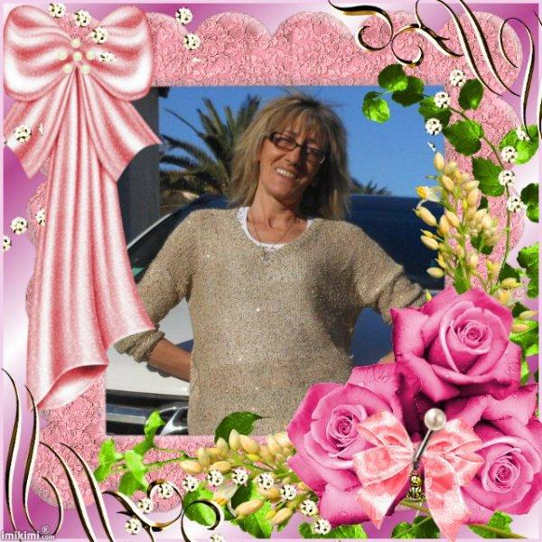 CADEAU Magnifique de mon amie Géraldine