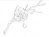 Un brouillon d'un 2e dessin sur tablette graphique !